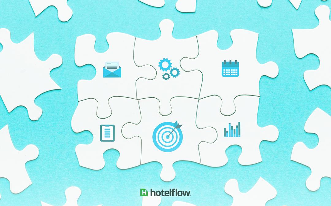 Qual a importância da integração de processos para o sucesso de um hotel?