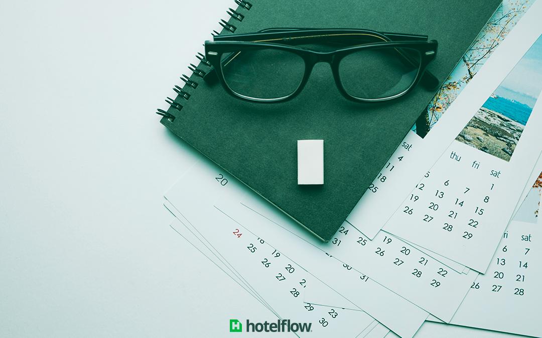 Como otimizar o calendário de reservas do hotel?